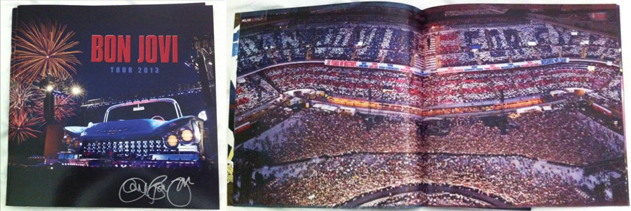 Tour Book coreografia