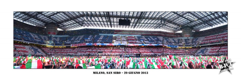 Panoramica San Siro meeting 2013