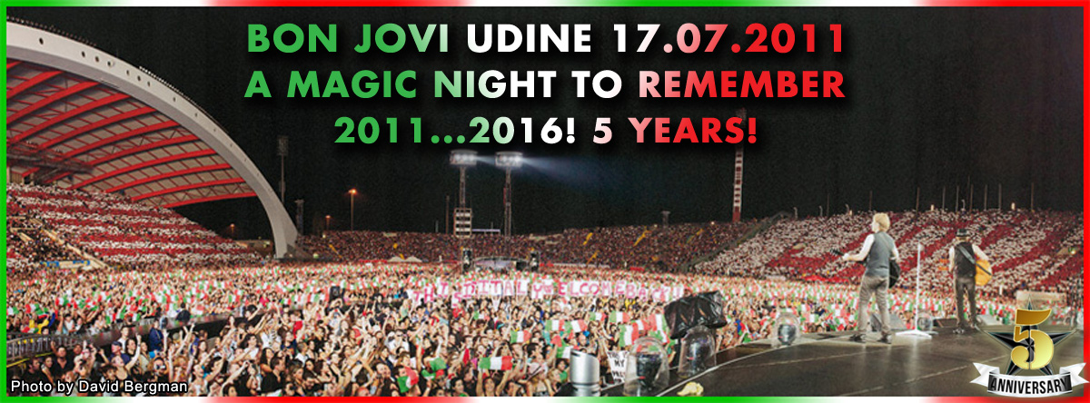 Immagine Udine 2011: A Magic Night to Remember!