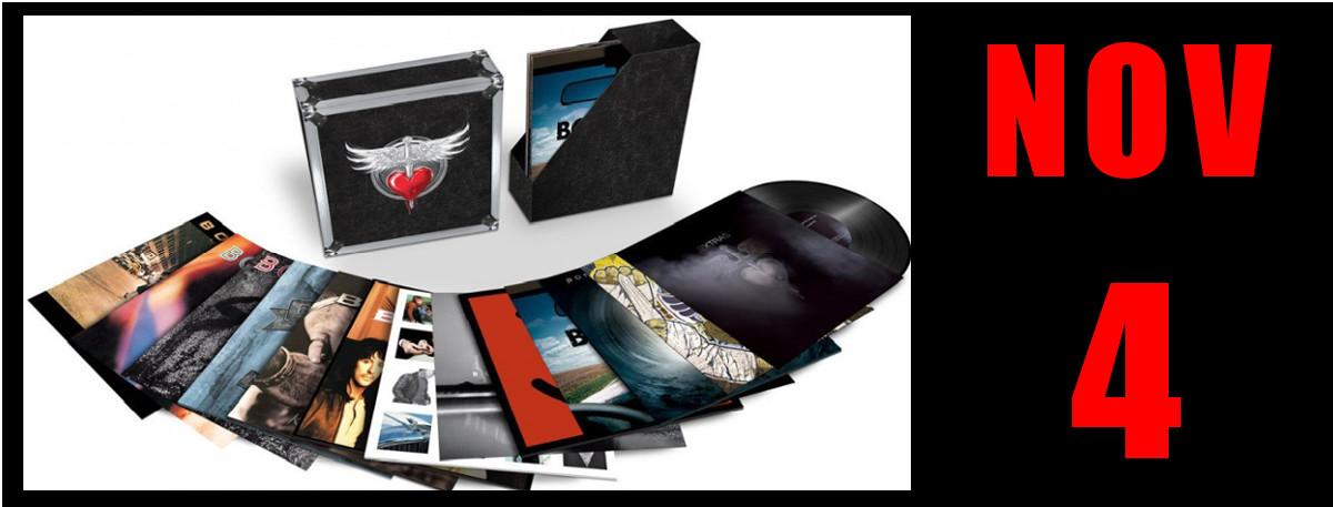 Immagine 4 novembre 2016 tutta la discografia dei Bon Jovi in LP Vinile