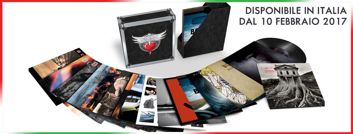Immagine 10 febbraio 2017, esce in Italia il boxset LTD edition con tutti i Vinili LP dei Bon Jovi