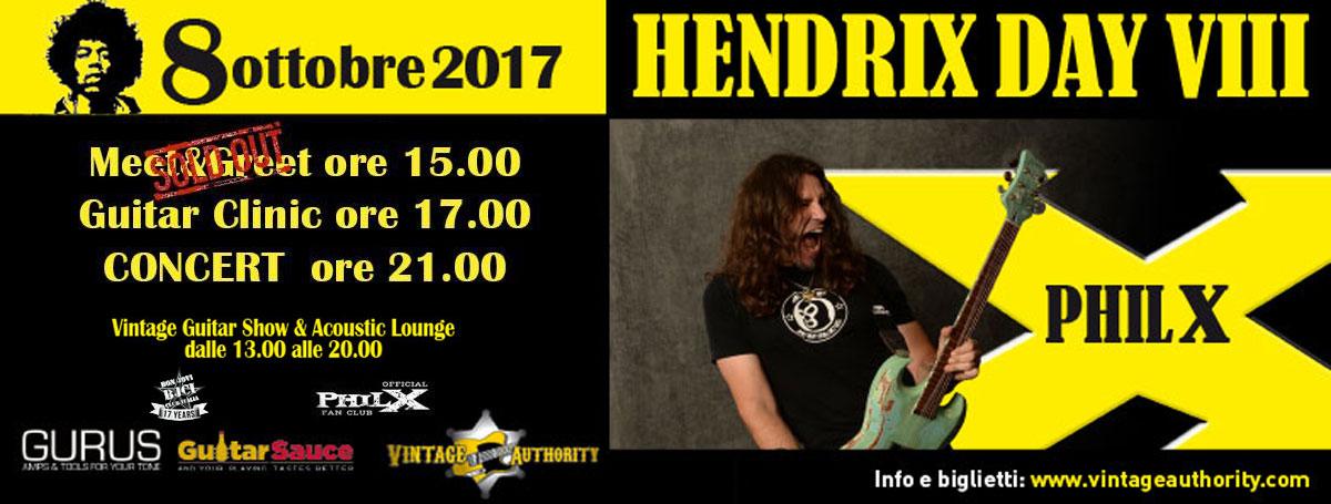 Immagine Domenica 8 ottobre 2017 Phil X in Italy! Hendrix Day VIII edition