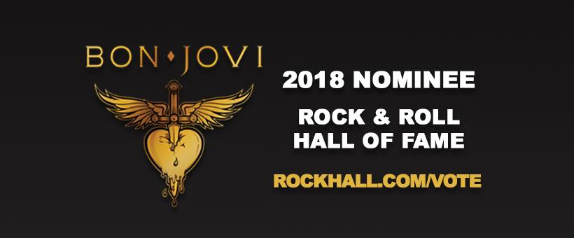 Immagine I Bon Jovi nominati per la Rock'n'Roll Hall Of Fame 2018