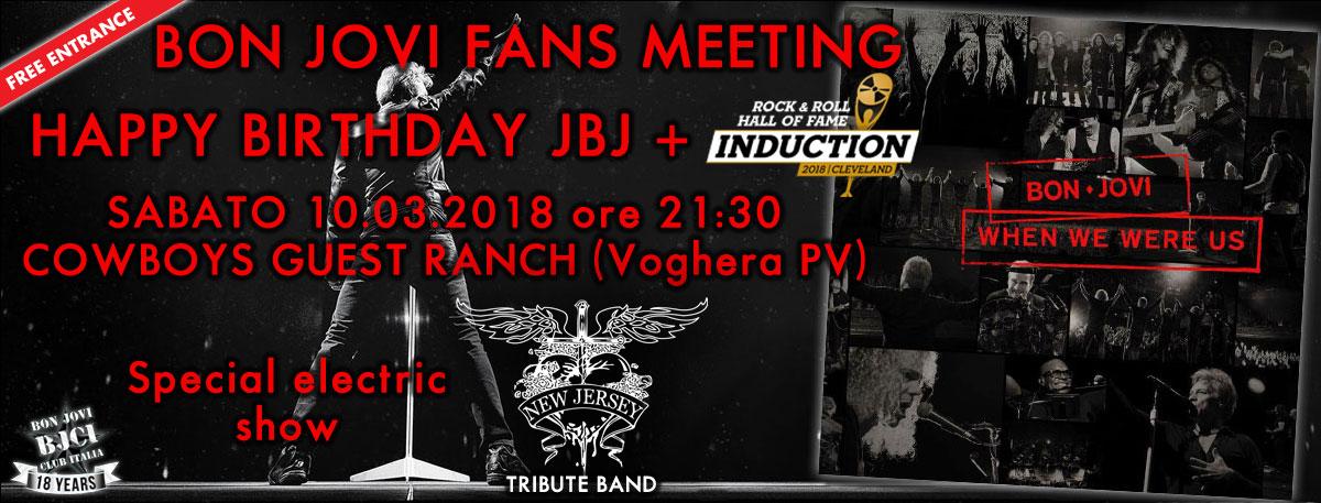 Immagine 10 Marzo 2018 Bon Jovi Fans Meeting