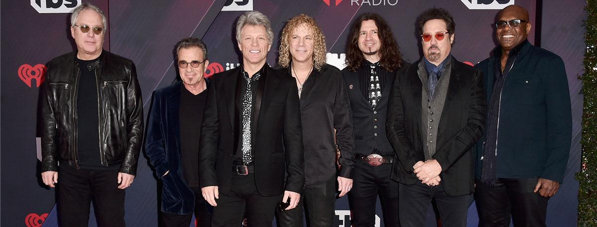 Immagine I Bon Jovi premiati con l'iHeart Radio Icon Award
