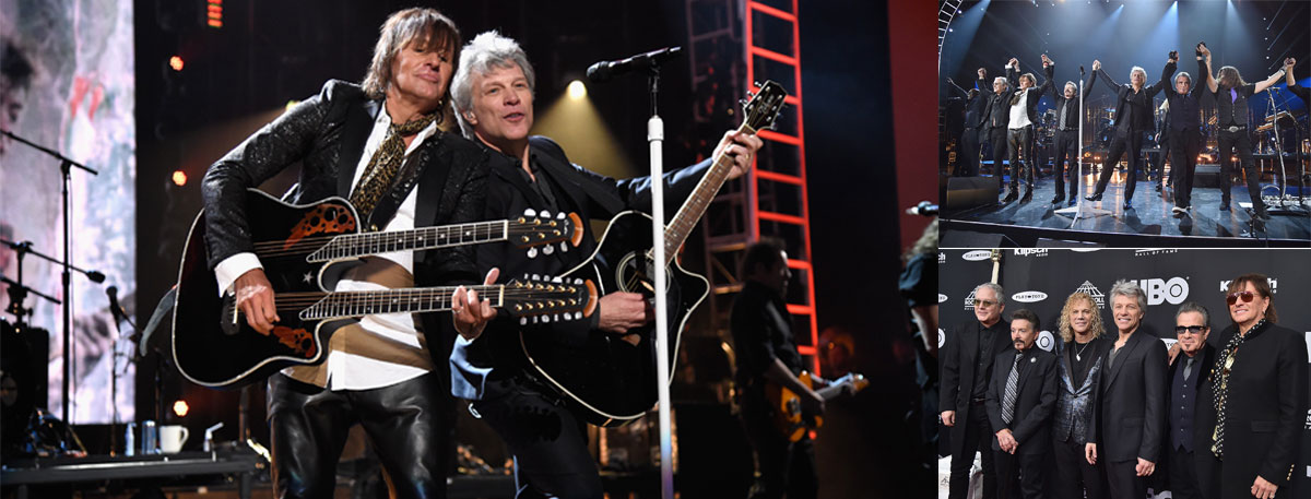Immagine La Reunion dei Bon Jovi alla Rock and Roll Hall of Fame