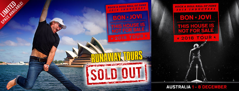 Immagine Annunciato l'Australian THINFS Tour 2018 e Runaway Tours a Sydney