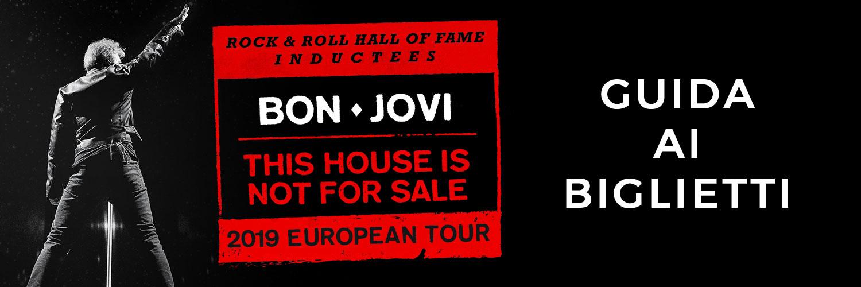 Immagine Guida ai biglietti del tour europeo 2019