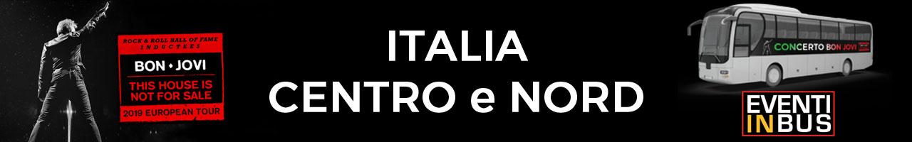 Bus Italia Centro Nord Bon Jovi