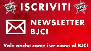 Iscriviti! Newsletter BJCI