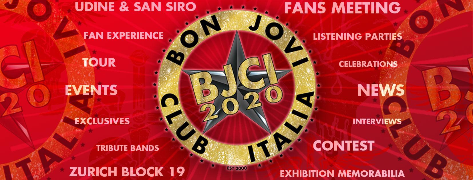 Immagine Welcome 2020! 20 anni del BJCI e Bon Jovi 2020